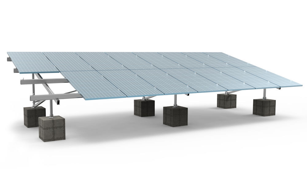 Solar Mounting Concrete Block